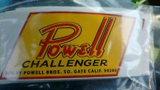 "Powell Challenger mini bike decal vinyl reproduction 4"""