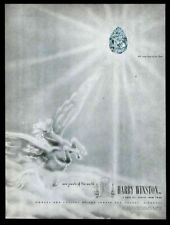 1950 Pegasus flying horse art Harry Winston 100carat Star of the East diamond ad
