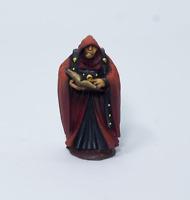 Painted Miniature Cultist, Pathfinder Rpg, DnD, Reaper Bones