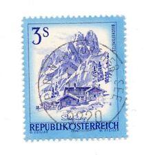 AUTRICHE Timbre 3 Schilling 1974 - Bischofsmütze