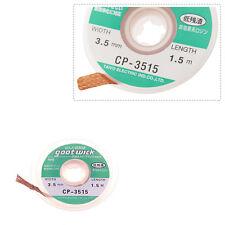 1pcs Desoldering Wick Braid Solder Remover 2* 3.5mm  Goot Wick  5 fteet.