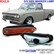 DATSUN 510 STATION WAGON 521 1600 BLUEBIRD SSS 1968-73 SIDE MARKER LAMP PAIR