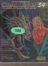 CHALLENGE #54 SCIENCE FICTION RPG MAGAZINE - Mega Traveller - Twilight 2000 -NEW