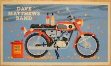 Dave Matthews Band Poster 2012 Chicago United Center Numbered #/815 Rare!