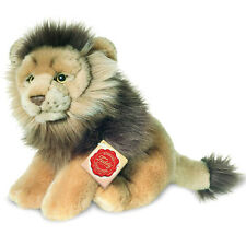 Lion male collectable plush soft toy by Teddy Hermann - 22cm - 90452 6