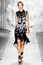 Jason Wu Petal-Print Shirtdress ,Size :10 USA , Retail $1,930 NEW.