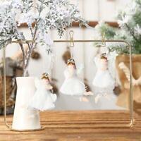 Plush Angel Pendant Christmas Ornament Tree Cute Hanging Ornament Xmas Decor
