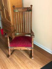 Victorian Oak Rocking Chair