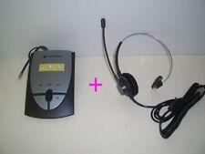 Plantronics S12 + K100 Headset System for Avaya Nortel Cisco Aspire Toshiba NEC