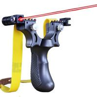 Laser Aiming Slingshot Tirachinas Resortera Honda Gomera Caza Potente Gift Duro