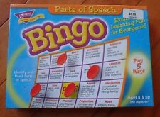 New - TREND Parts of Speech Bingo Game