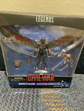NEW Marvel Legends Series Falcon With Flight Tech And Redwing Action Figure MINT