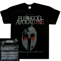 Fleshgod Apocalypse Greek Helmet S M L XL Official T-Shirt Death Metal Tshirt