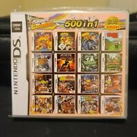 500 in 1 Nintendo 3DS DS Multi Cart With Fast Free Shipping