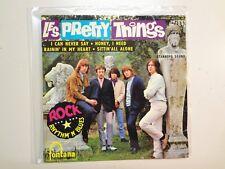 """PRETTY THINGS: Rock Rhythm' N' Blues-France 7"""" 65 Fontana 465.296 ME EP Orig.PCV"""