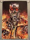 The Terminator Arnold Schwarzenegger Horror Movie Print Poster Mondo Elvisdead
