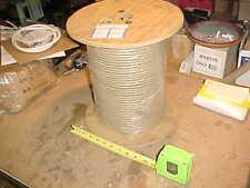 905'  TAN, Times, RG-59 QUAD Shield 75 Ohm Coaxial Headend Cable **Cheap**