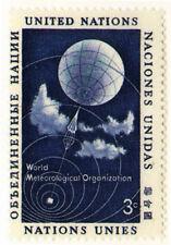 UNO New York 1957 Mi 55 World Meteorlogical Organization - MNH