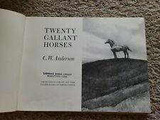Twenty Gallant Horses By C.W. Anderson