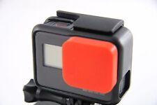 GoPro Go Pro HERO 5 - Linsenschutz Lens Caps Kappe Protector Cover  Zubehör RED