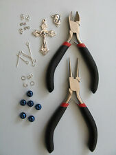 Rosary Making Starter Kit With Instructions (Steel Blue)