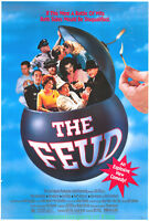 THE FEUD MOVIE POSTER Original SS One Sheet 27x40  COMEDY Film 1989
