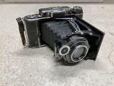 Carl Zeiss Ikon Vintage Folding Folder Camera Inc Lens And Case