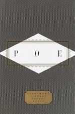 Everyman's Library Pocket Poets: Poe by Edgar Allen Poe (1995, Hardcover)