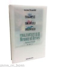 Final Fantasy I II III Novel FF 1 2 3 Japanese Book Kanji Hiragana Reading