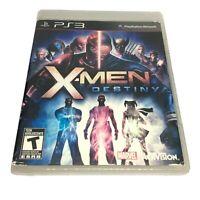 X-Men: Destiny (Sony PlayStation 3, 2011) Mint Complete PS3