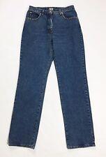 Armani jeans donna size W31 44 46 gamba dritta boyfriend strass usato T393