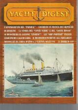 Yacht Digest 74 Zac - L'affondamento del Parsifal galeone Livorno 1995 DeAgostin