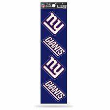 New York Giants Decal Car Sticker The Quad 4 Pack Sticker Set QAD