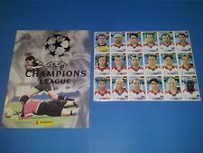 Panini Champions League 2000/2001 Empty Album