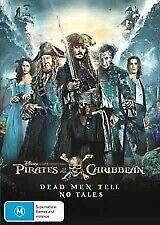 PIRATES OF THE CARIBBEAN Dead Men Tell No Tales DVD - Johnny Depp (Region 4)
