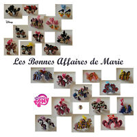 DISNEY Mickey & Cie, My Little Pony, Peppa Pig - Lot de 2 chouchous - Neuf
