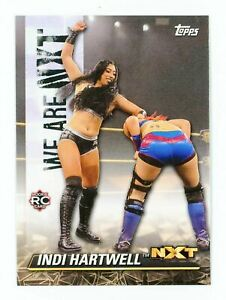 2021 Topps WWE We Are NXT Insert #NXT-20 Indi Hartwell - NXT