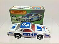 Lesney Matchbox Series 75 Chevy Pro Stocker New 34 - In Original Box