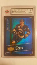 Jack Eichel 2015-16 Precious Metal Gem Blue Rookie Hockey Card #33/50 Graded 8!!