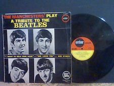 Les Manchesters A TRIBUTE TO THE BEATLES LP GREAT!!!