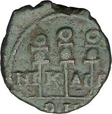 SEVERUS ALEXANDER 222AD Nicaea LEGIONARY STANDARDS Ancient  Roman Coin  i48718