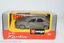 BBURAGO BURAGO 4155 CITROEN XANTIA METALLIC BROWN MINT BOXED.