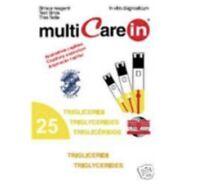 25x Trygliceride Test - streifen für (Multicare in messgerät - 3in1 Angebot