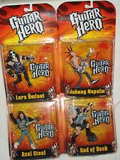"""GUITAR HERO 5"""" ACTION FIGURE Lot 4"""