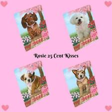 Rosie 25 Cent Kisses Dogs Cats Pet Photo Small Magnet 5.5x4.25 In Gift