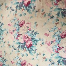 Vintage Ralph Lauren 1989 Elsa Fabric Floral Shabby Chic Designer 2 Yards