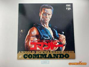 COMMANDO Arnorld Schwarzenegger Laserdisc LD JAPAN Ref:315541