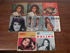 8x  disques anciens 45 tours RPM DALIDA années 60 et 70 (Lot 1/5)