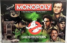 Ghostbusters Edition Monopoly Property Trading Board Game USAopoly