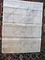 """Antique MAP, Province of NEW YORK, Publ.1779, Engraved PEASE 1849, 39"""" x 30 1/2"""""""